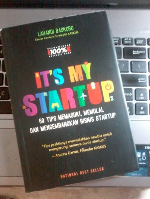 its my startup